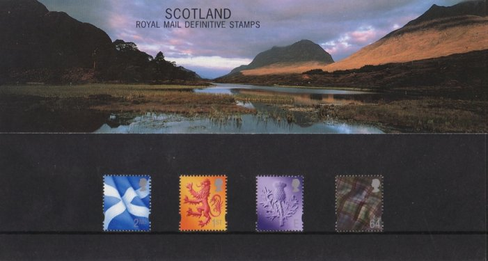 The Scottish Stamps; special edition